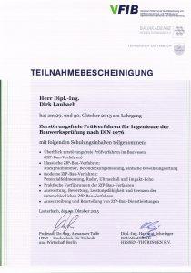 Zerstörungsfreie Prüfverfahren für Ingenieure der Bauwerksprüfung nach Din 1076